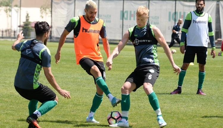 Kayserispor - Konyaspor hazırlık maçı özeti ve golleri