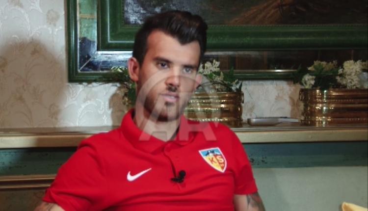Kayserispor'da Güray Vural: ''Büyük takımlarda oynamak istiyorum''