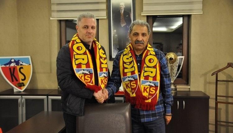 Kayserispor'da Sumudica: