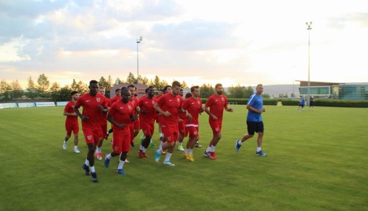 Kayserispor'da yeni sezon öncesi izin zamanı