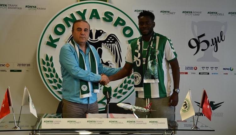 Konyaspor transferde Wilfred Moke ile sözleşme imzaladı