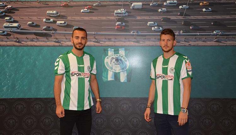 Konyaspor'da 2 transfer birden
