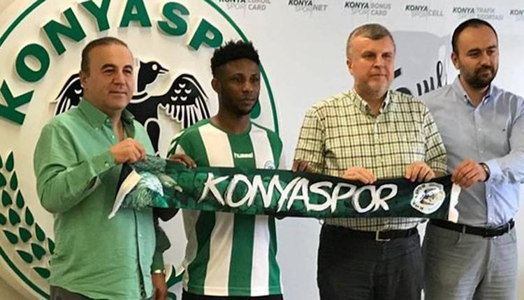 Konyaspor'da Imoh Ezekiel'den 3 yıllık imza
