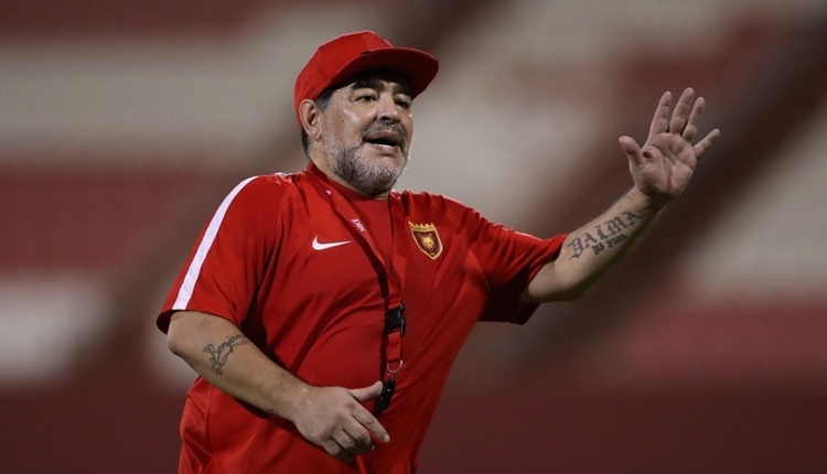 Maradona'dan Video Hakeme destek!