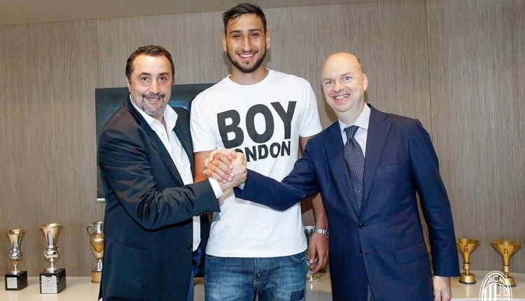 Milan, Donnarumma ile sözleşme imzaladı