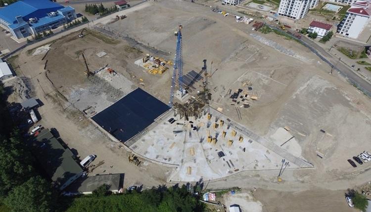 Orduspor'un yeni stadında son durum