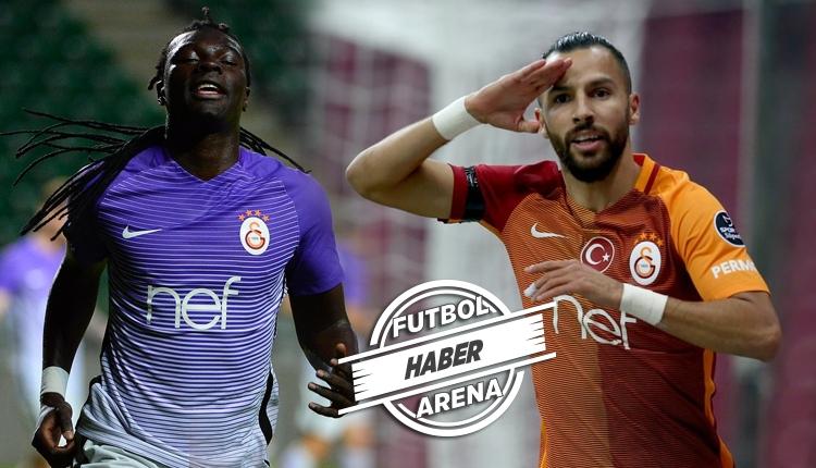 Östersunds - Galatasaray maçında Gomis'ten Yasin Öztekin'e fırça