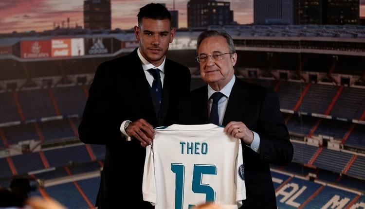 Real Madrid yeni transfer Theo Hernandez'i tanıttı