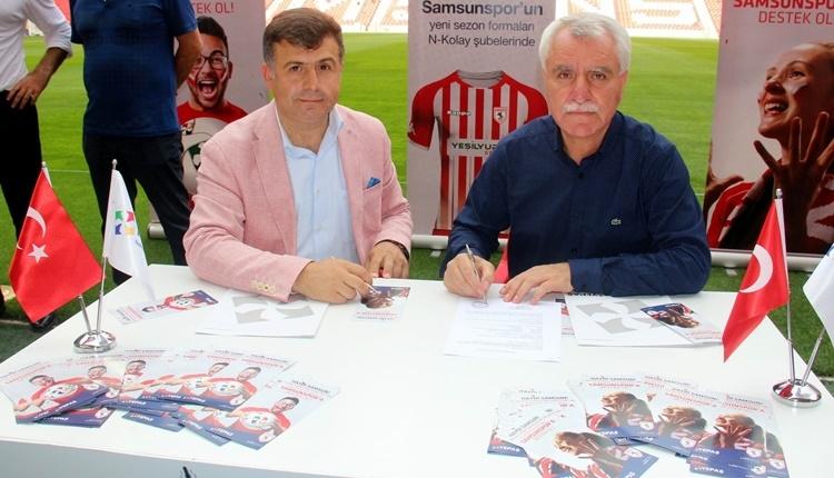 Samsunspor'a yeni sponsor