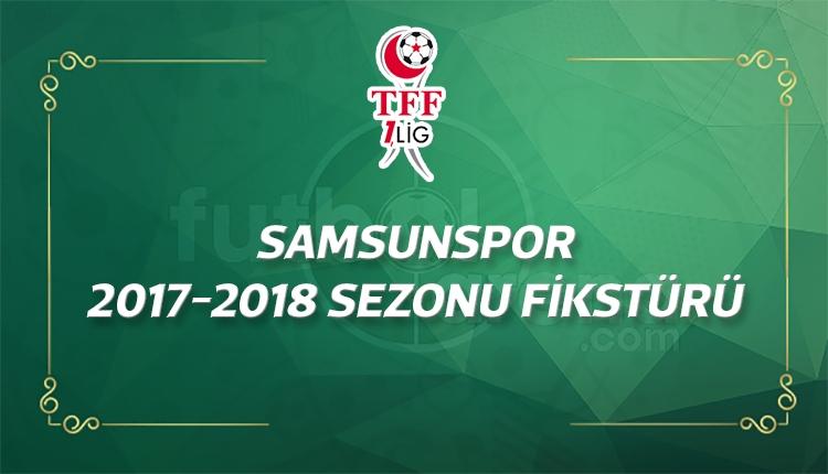 Samsunspor'un 2017-2018 sezonu fikstürü - Samsunspor maçları