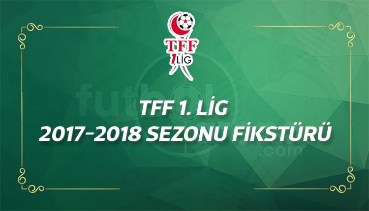 TFF 1. Lig fikstürü - 1. hafta maçları