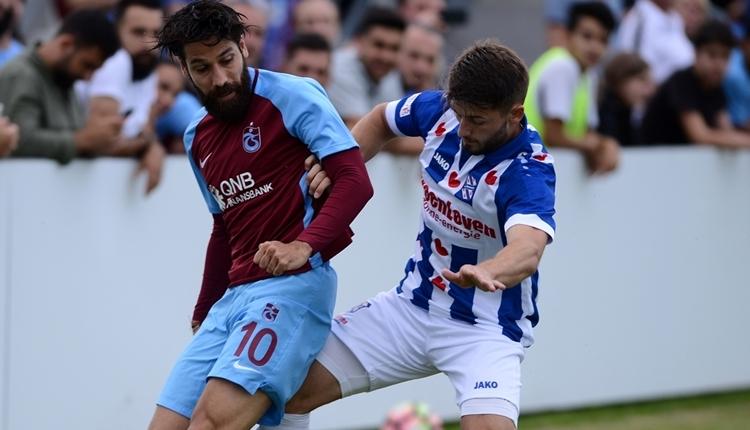 Trabzonspor 0-0Heerenveen hazırlık maçı özeti