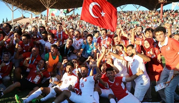 Türkiye İşitme Engelli Milli Futbol Takımı şampiyon!
