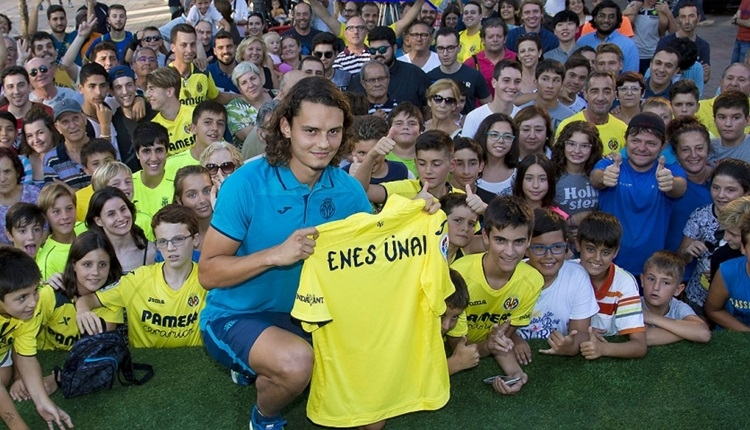 Villarreal'in yeni transferi Enes Ünal söz verdi