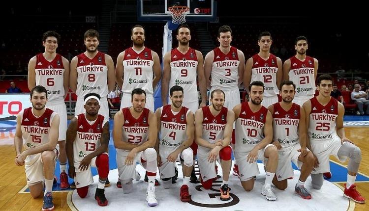 A Milli Erkek Basketbol Takımı'nın 2019 FIBA Dünya Kupası'nda rakipleri kesinleşti
