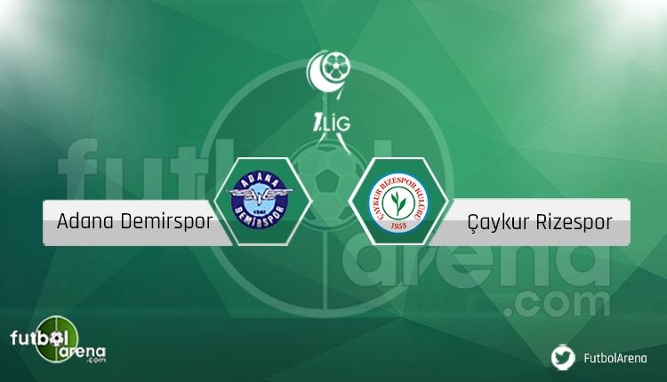 Adana Demirspor - Çaykur Rizespor maçı saat kaçta? Sakat, cezalı oyuncular (Canlı)