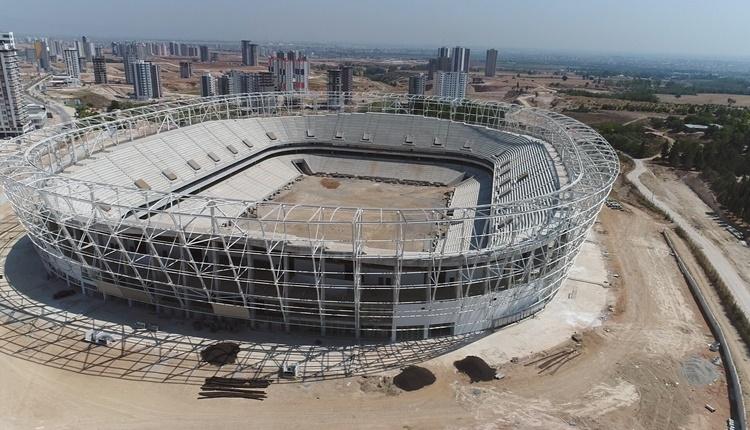 Adana'nın yeni stadı Adana Koza Stadı'nda son durum