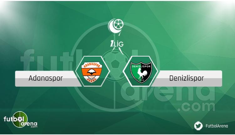 Adanaspor Denizlispor maçı saat kaçta, hangi kanalda? Eksik ve cezalılar