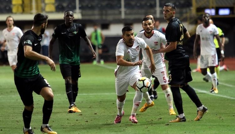 Akhisar Belediyespor 1-0 Sivasspor maçı özeti ve golleri - İZLE