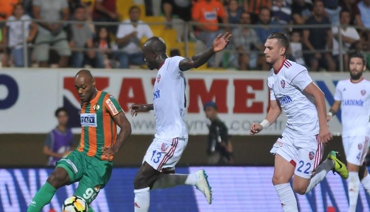 Alanyaspor 1-1 Karabükspor maç özeti ve golleri