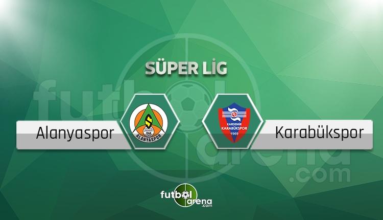Alanyaspor - Karabükspor canlı skor, maç sonucu - Maç hangi kanalda?