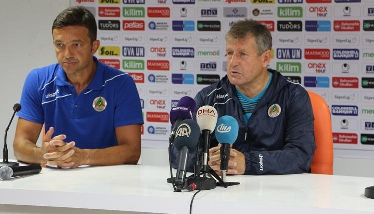 Alanyaspor - Kasımpaşa maç sonu Safet Susic'ten itiraf