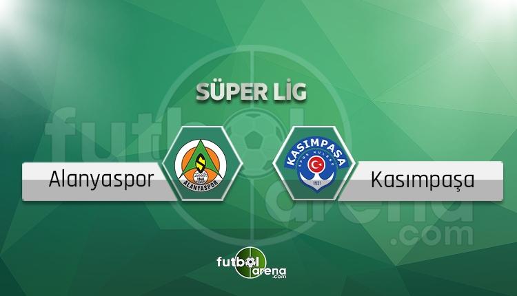 Alanyaspor - Kasımpaşa maçı saat kaçta, hangi kanalda?