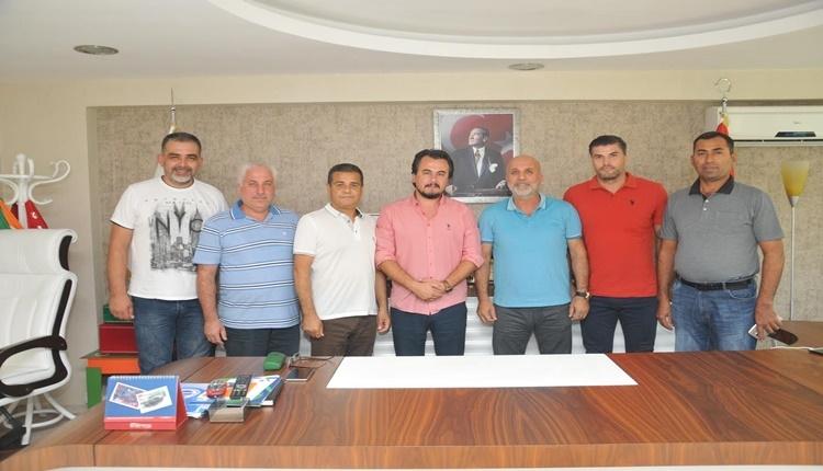 Alanyaspor'a 'Yörükler' Grubu'ndan destek ziyareti