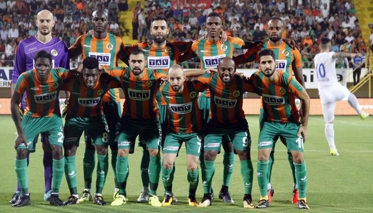 Alanyaspor'da Bursaspor maçı hazırlıkları öncesi son durum