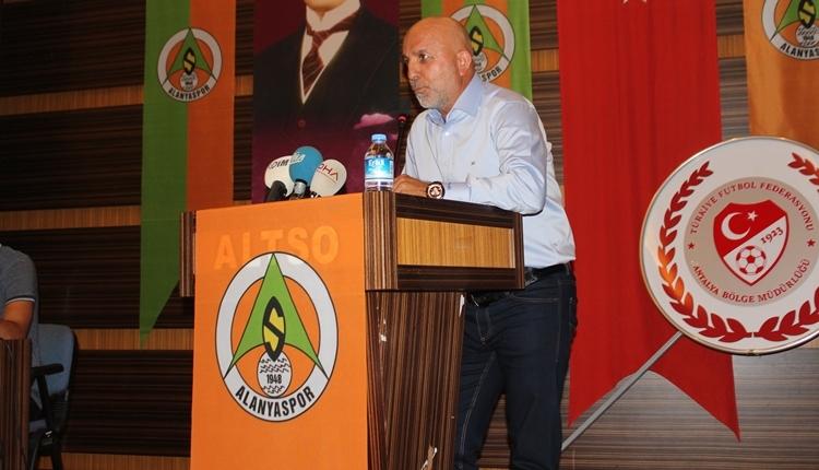 Alanyaspor'da Hasan Çavuşoğlu yeniden başkan seçildi