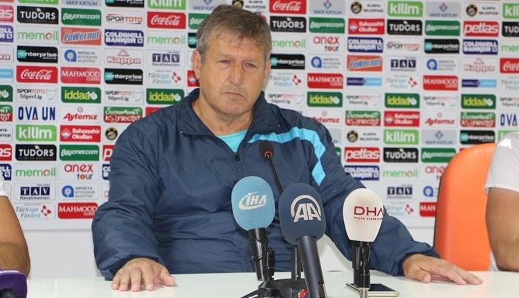 Alanyaspor'da Safet Susic transfer bekliyor