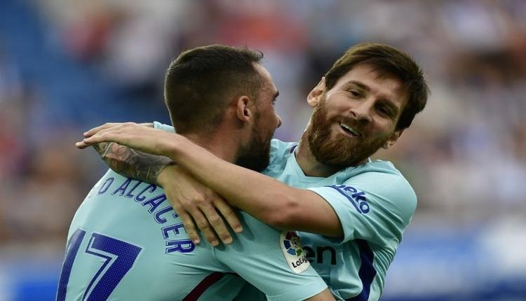 Alaves Barcelona maçı özeti ve golleri İZLE