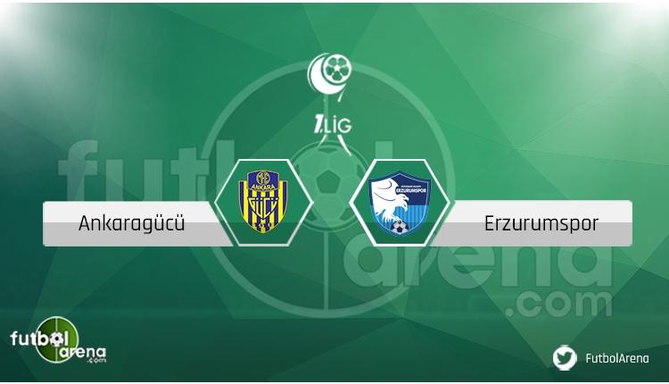 Ankaragücü - Erzurumspor maçı saat kaçta, hangi kanalda?