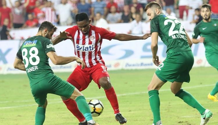 Antalyaspor 2-2 Akhisar Belediyespor maçı özeti ve golleri İZLE