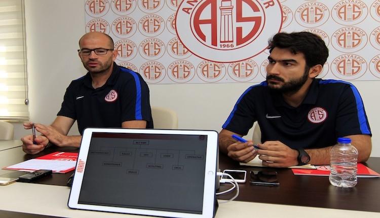Antalyaspor Altyapı Direktörü İspanyol Badia şaşırdı