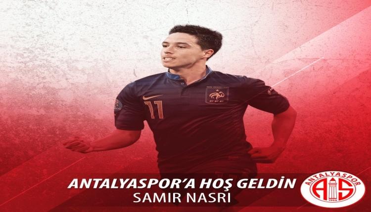 Antalyaspor, Samir Nasri transferini açıkladı