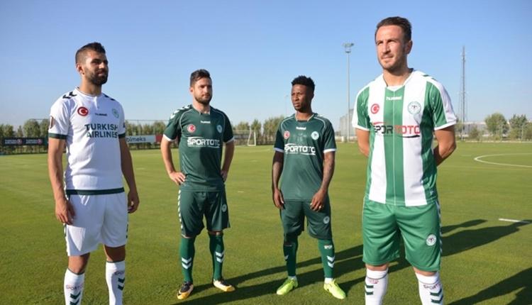 Atiker Konyaspor'un yeni sezon formaları!