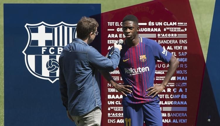 Barcelona'nın yeni transferi Dembele'den Neymar itirafı