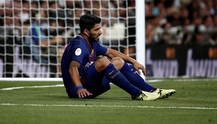 Barcelona'ya Luis Suarez'den kötü haber
