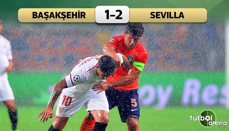 Başakşehir 1-2 Sevilla maç özeti ve golleri (İZLE)