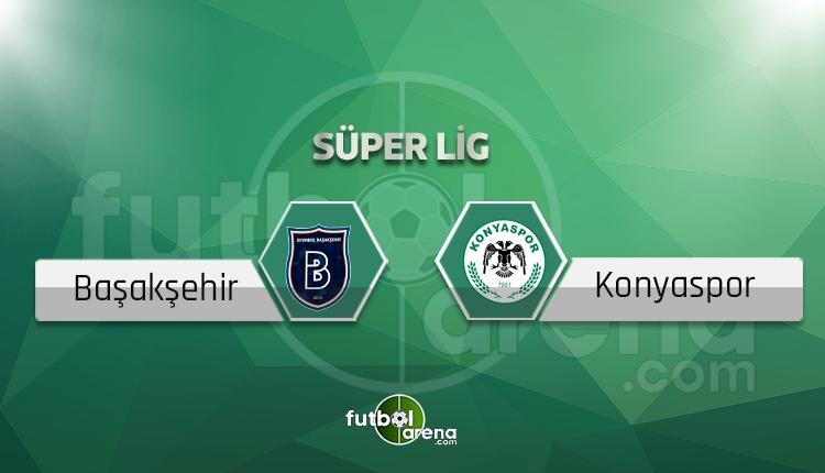 Başakşehir Konyaspor canlı skor, maç sonucu - Maç hangi kanalda?
