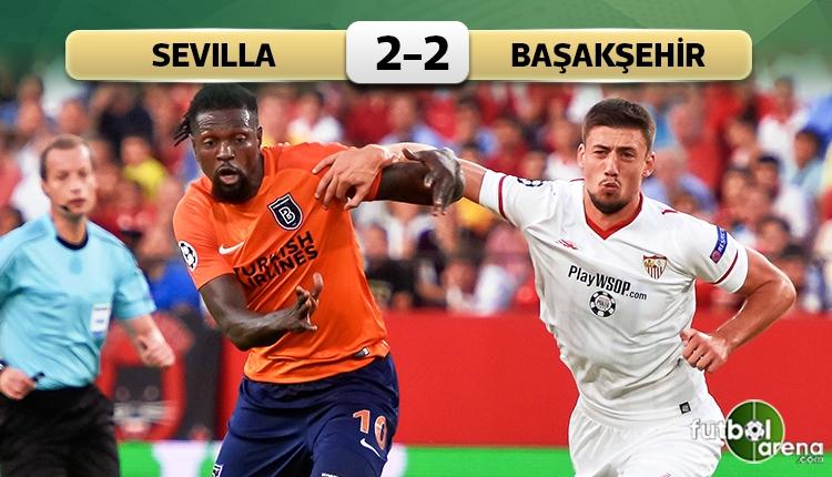 Sevilla 2-2 Başakşehir maç özeti ve golleri (İZLE)