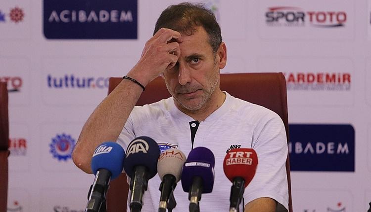 Başakşehir'de Abdullah Avcı'dan eleştiri