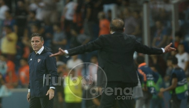 Başakşehir'de Abdullah Avcı'dan Sevilla maçında şok küfür (İZLE)