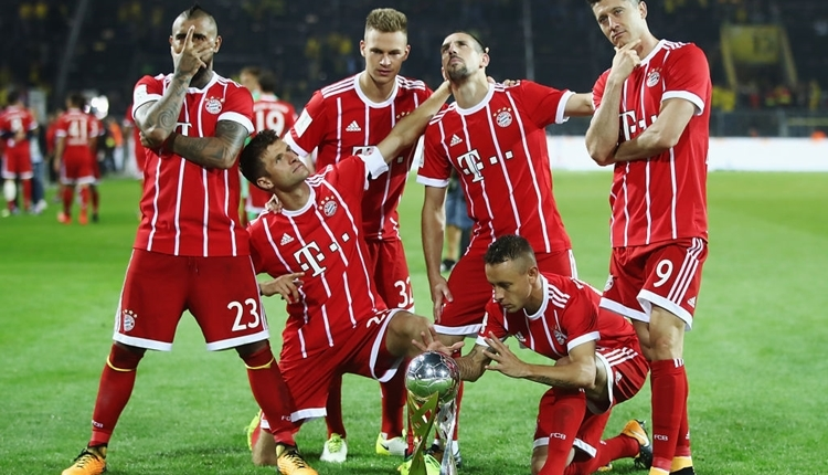 Bayern Münih 5-4 Dortmund maç özeti ve golleri