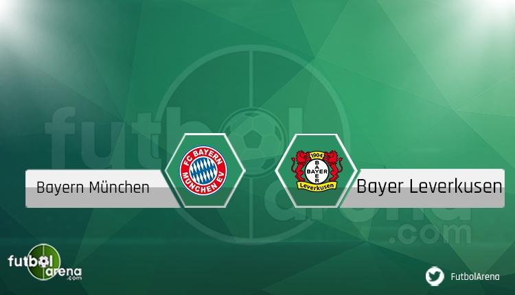 Bayern Münih - Bayer Leverkusen maçı saat kaçta, hangi kanalda? Şifresiz canlı izle