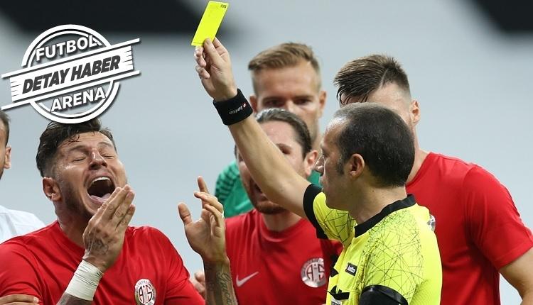 Beşiktaş - Antalyaspor maçında Oğuzhan'ın pozisyonu Cüneyt Çakır'ın Nani kararını hatırlattı