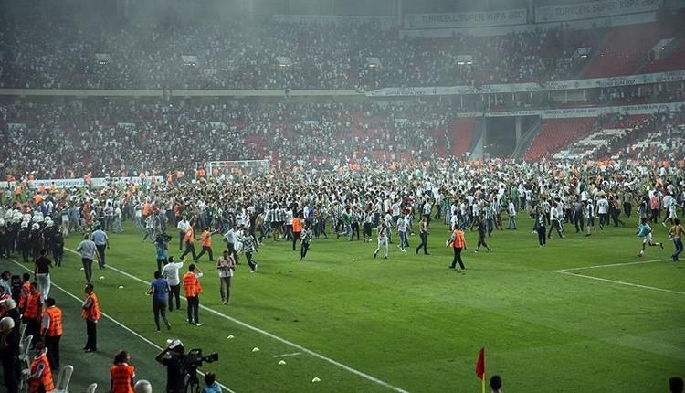 Beşiktaş - Atiker Konyaspor maçı sonrası gözaltı