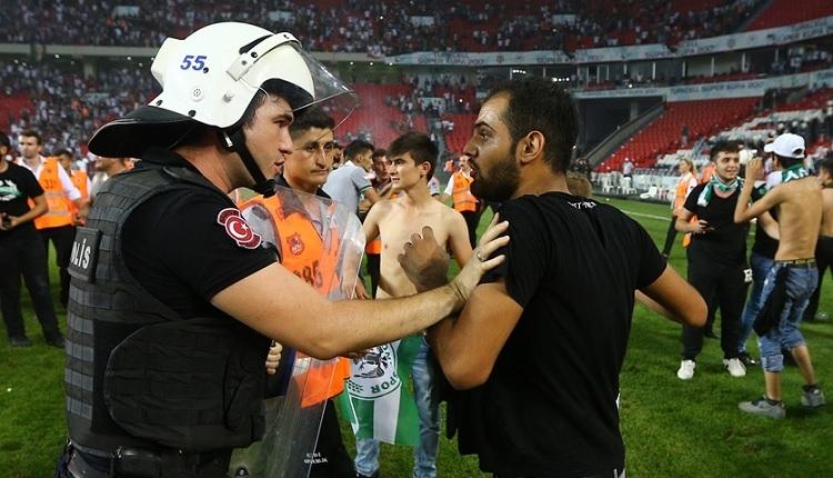Beşiktaş - Konyaspor maçı için soruşturma
