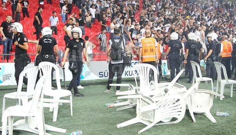 Beşiktaş - Konyaspor maçı sonrası olaylar